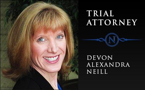 Trial Attorney - Devon Alexandra Neill